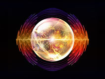 Evolving Wave Particle Stock Images