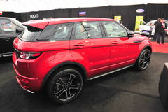 Range Rover Evoque Royalty Free Stock Photo