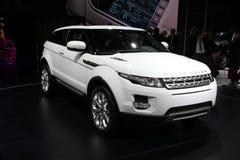 evoque Range Rover Стоковое Изображение RF