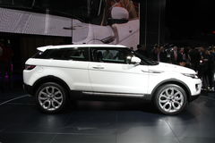evoque Range Rover Стоковое Изображение