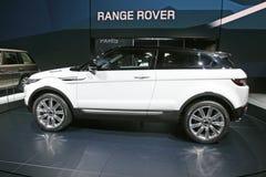evoque Range Rover Royaltyfria Foton