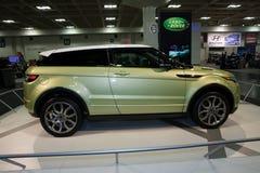 evoque Range Rover Fotografering för Bildbyråer