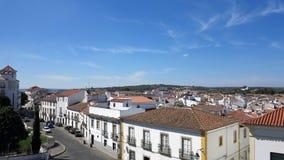 evora葡萄牙 免版税图库摄影