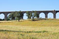 Evora Aqueduct Royalty Free Stock Image