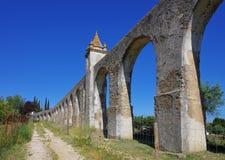 Evora Aqueduct Stock Images