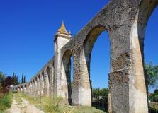 Evora Aqueduct Stock Image