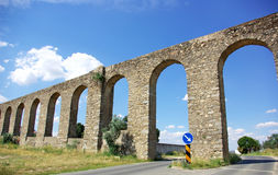 Evora aqueduct,  Portugal. Royalty Free Stock Photography