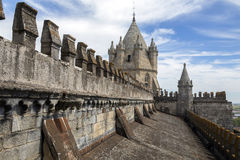 Evora Cathedral - Evora - Portugal Royalty Free Stock Photography