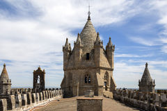 Evora Cathedral - Evora - Portugal Stock Photography