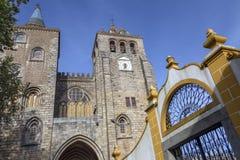 Evora Cathedral - Evora - Portugal Stock Photo