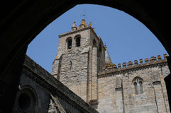 Evora cathedral Stock Photography