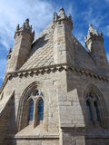 Evora gothic cathedral tower Stock Photos