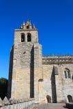 Evora-Kathedrale Lizenzfreie Stockfotos