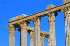 Evora temple Royalty Free Stock Photography