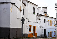 Evora traditional street Royalty Free Stock Photography
