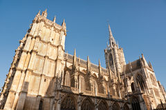 Evreux, Normandy. Gothic Notre Dame cathedral in Evreux, Normandy Royalty Free Stock Photo