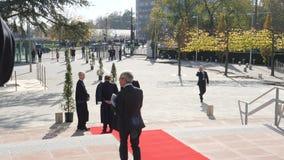 EVRM-Rechters die op Emmanuel Macron French President wachten