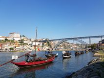 Evrope葡萄牙波尔图地标 免版税图库摄影
