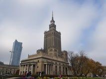 Evrope warsaw poland landmark stock photo