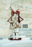 Evzone战士仪仗队4 免版税库存照片