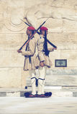 Evzone战士仪仗队3 免版税图库摄影