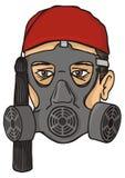 evzone benzynowa grka głowy maska ilustracji
