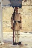 Evzone gwardia honorowa z karabinem 6 Zdjęcie Royalty Free