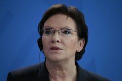 Ewa Kopacz Stock Image