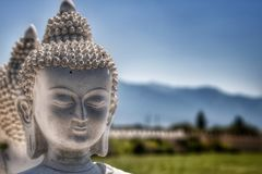 Ewan Garden von tausend Buddhas, Arlee, M.Ü. Lizenzfreies Stockbild