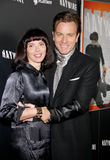 Ewan McGregor and Eve Mavrakis Royalty Free Stock Photography