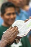 Ewangelicka kaznodzieja Zdjęcia Royalty Free