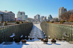 Ewha Campus Complex Royalty Free Stock Photography