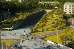 Ewha Womans University Campus Complex Aerial H Royalty Free Stock Image