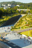Ewha Womans University Campus Complex Aerial V Royalty Free Stock Images