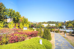 Ewha Women's University. Is a private women's university in central Seoul, South Korea. It is one of the city's largest institutions of higher learning and royalty free stock image