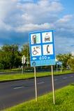 Ewidencyjnego ruchu drogowego znak Obraz Royalty Free