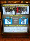 Ewidencyjny budka w lotnisku Obraz Royalty Free