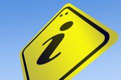 ewidencyjny drogowego znaka słowo Obraz Royalty Free