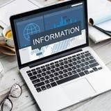 Ewidencyjnych dane szczegółów fact Badawczy Graficzny pojęcie zdjęcie stock
