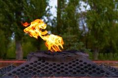 Ewige Flamme Stockfotografie