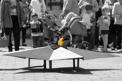 Ewige Flamme Lizenzfreies Stockfoto