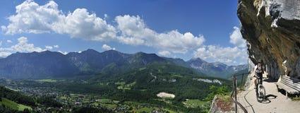 ewige mountainbiking ράβδος στοκ φωτογραφίες με δικαίωμα ελεύθερης χρήσης