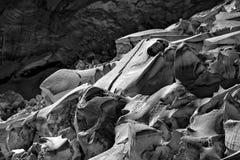 Ewiger Schnee und Eis auf die Oberseite von Jungfrau, Switz Stockfotos