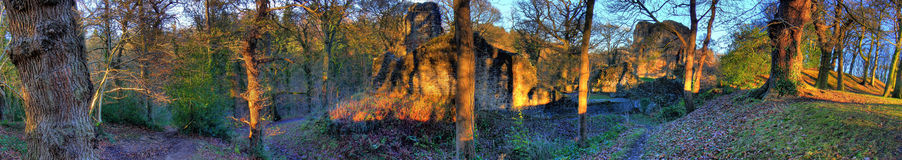 Ewloe Castle_01 Stockbilder