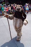 An Ewok at Star Wars Weekends at Disney World Stock Photos