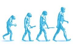 ewoluci istota ludzka Obraz Royalty Free