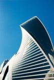 Ewolucja budynek przeciw niebu moscow Rosji Zdjęcie Royalty Free