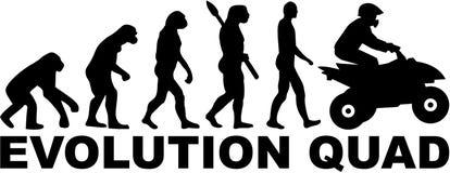 Ewolucja kwadrat royalty ilustracja