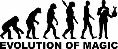 Ewolucja magia royalty ilustracja