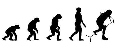 Ewolucja piosenkarz ilustracja wektor